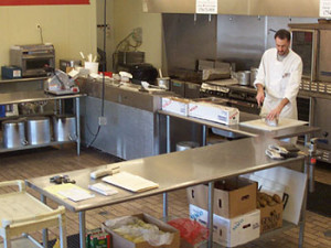 Catering and foodservice food preparation facilities
